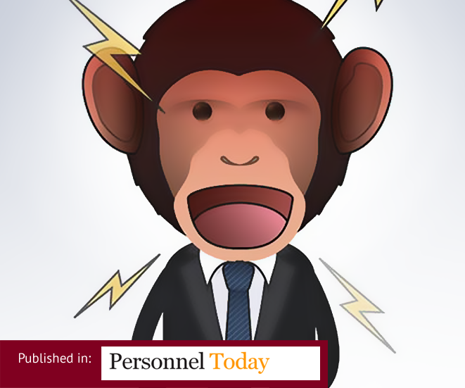 "HR and the employee's ""inner chimp"""